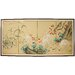 <strong>Geese in The Water 4 Panel Room Divider</strong> by Oriental Furniture