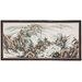 "36"" Mountaintop Landscape 4 Panel Room Divider"