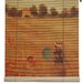<strong>Poppies Bamboo Roller Blind</strong> by Oriental Furniture