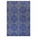 <strong>Bashian Rugs</strong> Chelsea Blue Floral Sun Rug