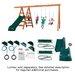 <strong>Pioneer Deluxe DIY Swing Set</strong> by Swing-n-Slide