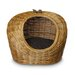 <strong>Snoozer Pet Products</strong> Wicker Paisley Print Cat Basket and Bed