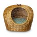 <strong>Snoozer Pet Products</strong> Luxury Wicker Quasar Robins Egg Cat Basket and Bed