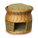<strong>Luxury Wicker Double Decker Cat Basket and Bed</strong> by Snoozer Pet Products
