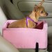 Lookout Large Console Pet Car Seat in Pink