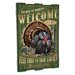 <strong>Wild Turkey Wooden Cabin Sign Wall Decor</strong> by American Expedition