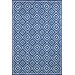<strong>Liora Manne</strong> Carlton Denim Diamond Indoor/Outdoor Rug