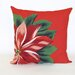 <strong>Liora Manne</strong> Visions II Poinsettia Pillow
