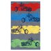 The Rug Market Motocross Grey Kids Rug