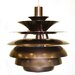 <strong>Miley 1 Light Mini Pendant</strong> by Pangea Home