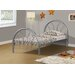 <strong>Twin Metal Frame Bed</strong> by Monarch Specialties Inc.