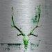 <strong>Head Banger Graphic Art Plaque on Aluminum</strong> by Parvez Taj