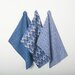 TAG 3 Piece Textiles Geo Dishtowel Set