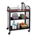 """Safco Products Company Impromptu 36.5"""" Beverage Cart"""