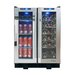 Vinotemp 36 Bottle Dual Zone Built-In Wine Refrigerator