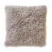 DwellStudio Sheepskin Longwool Curly Pillow