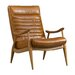<strong>Hans Leather Chair</strong> by DwellStudio