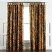 DwellStudio Ming Dragon Persimmon Curtain Panels
