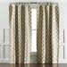 DwellStudio Casablanca Toffee Curtain Panels