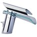 LaToscana Morgana Single Hole Waterfall Bathroom Faucet Less Handles