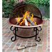 Copper Fire Pit with Spark Guard