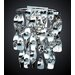 Odyssey Four Light Wall Sconce in Polished Chrome
