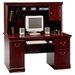Birmingham  Cherry Executive Desk with Hutch