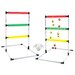 <strong>Glo-Bright Chuck-a-Ball Ladder Game</strong> by DMI Sports