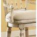 "Hooker Furniture Summerglen 33"" Swivel Bar Stool with Cushion"