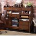 Danforth Open Credenza with Smart Hutch