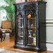 North Hampton Tall Display Cabinet in Black