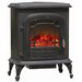 Stowe 120 Square Foot Electric Fireplace Stove