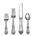 International Silver Sterling Silver Joan of Arc 4 Piece Dinner Flatware Set