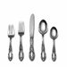 Towle Silversmiths Sterling Silver King Richard 46 Piece Flatware Set / Serving Set