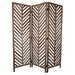 "<strong>72"" x 63"" Aloha 3 Panel Room Divider</strong> by Screen Gems"