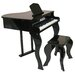 <strong>Elite Baby Grand Piano in Black</strong> by Schoenhut
