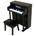 <strong>Traditional Spinet Piano in Black</strong> by Schoenhut