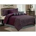 Keira 7 Piece Embroidered Comforter Set