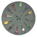 "<strong>Oversized 36"" Garden Tools Wall Clock</strong> by Creative Co-Op"