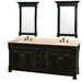 "<strong>Wyndham Collection</strong> Andover 80"" Double Vanity Set"