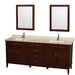 "<strong>Hatton 80"" Double Bathroom Vanity Set</strong> by Wyndham Collection"