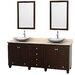 "Wyndham Collection Acclaim 80"" Double Bathroom Vanity Set"