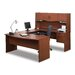 <strong>Bestar</strong> ndra,Harmony U-Shape Executive Workstation with Storage Drawers