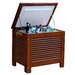 Merry Products Outdoor Wooden Patio Cooler