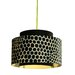 <strong>Venlo 1 Light Drum Pendant</strong> by Control Brand