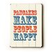 <strong>Pancakes Make People Happy Wood Sign</strong> by Artehouse LLC