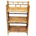 Bamboo54 Natural Bamboo 3 Tier Shelf