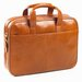 <strong>Tuscan Top Handle Leather Briefcase</strong> by Clava Leather