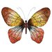 UMA Enterprises Rustic Butterfly Wall Décor