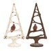 <strong>Christmas Tree with Bird (Set of 2)</strong> by UMA Enterprises